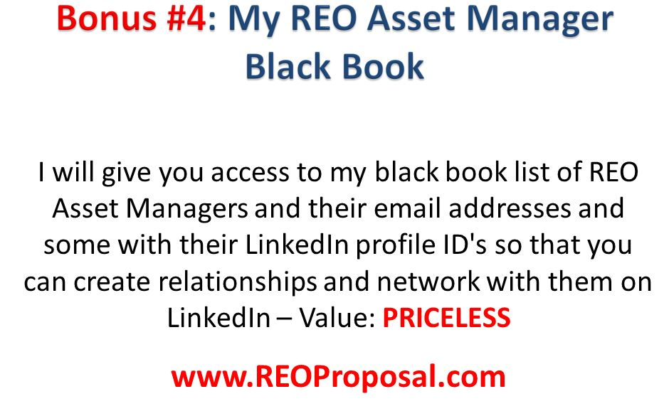 REO Asset Manager List